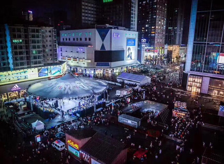 FIBA 3x3 World Tour in Chengdu mit Magic Sky