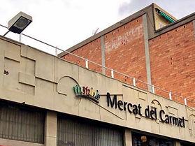 Mantenimiento mercado municipal El Carmel de Barcelona