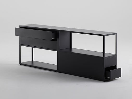 New Order Shelving System with Steel Dra