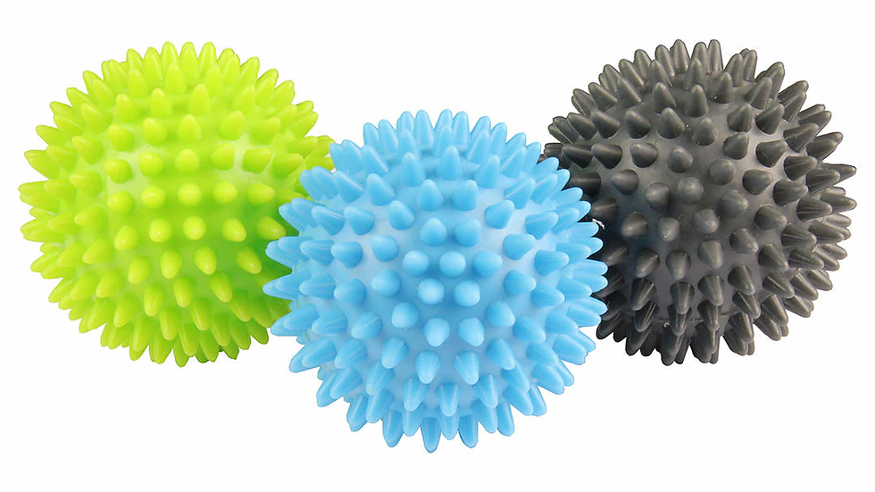 Myofascial Spiky Pilates ball -  Set of 3