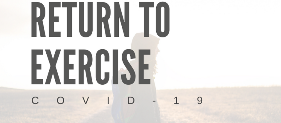 Return to Exercise after Covid 19