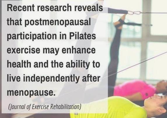 Menopause - Pilates