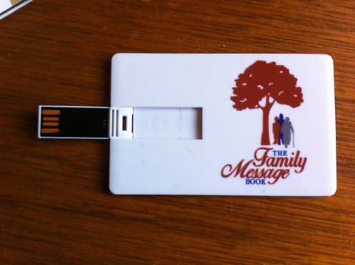 The Family Message Book USB