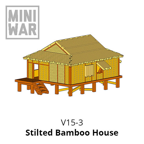 Stilted Bamboo House
