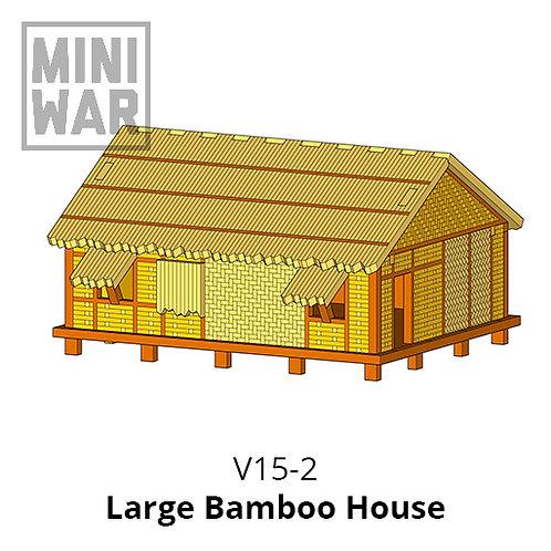 Large Bamboo House