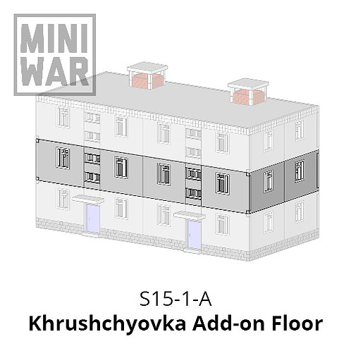 Khrushchyovka Add-on Floor