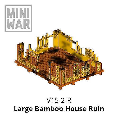 Large Bamboo House Ruin