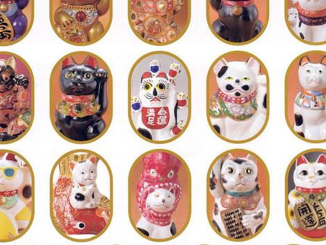 京都高島屋「招き猫の世界は、かくも面白い 招き猫博覧会」