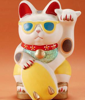 招き猫ミュージアム特別展「ワールドワイドに福招き! 世界の招き猫」(愛知瀬戸)
