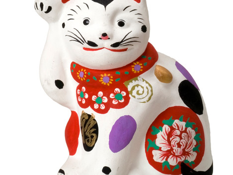 開運招福 招き猫「福の市」(横浜)