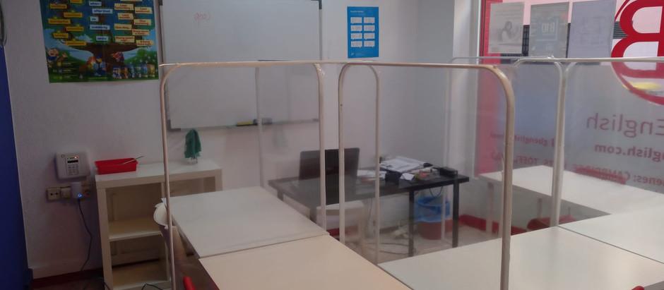 Nuevo mobiliario individual y desinfección con ozono