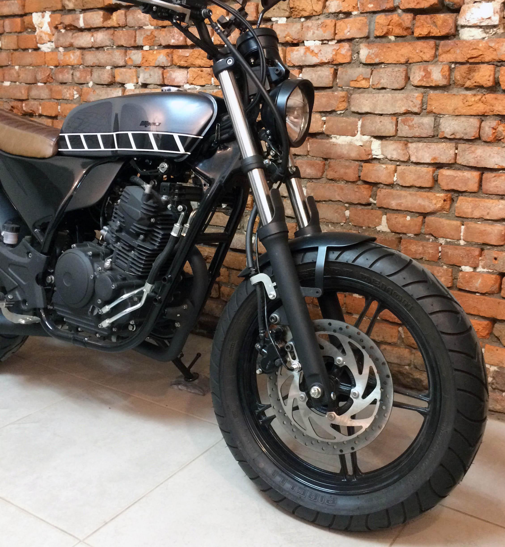 1 geral moto yamaha fazer custom diferen
