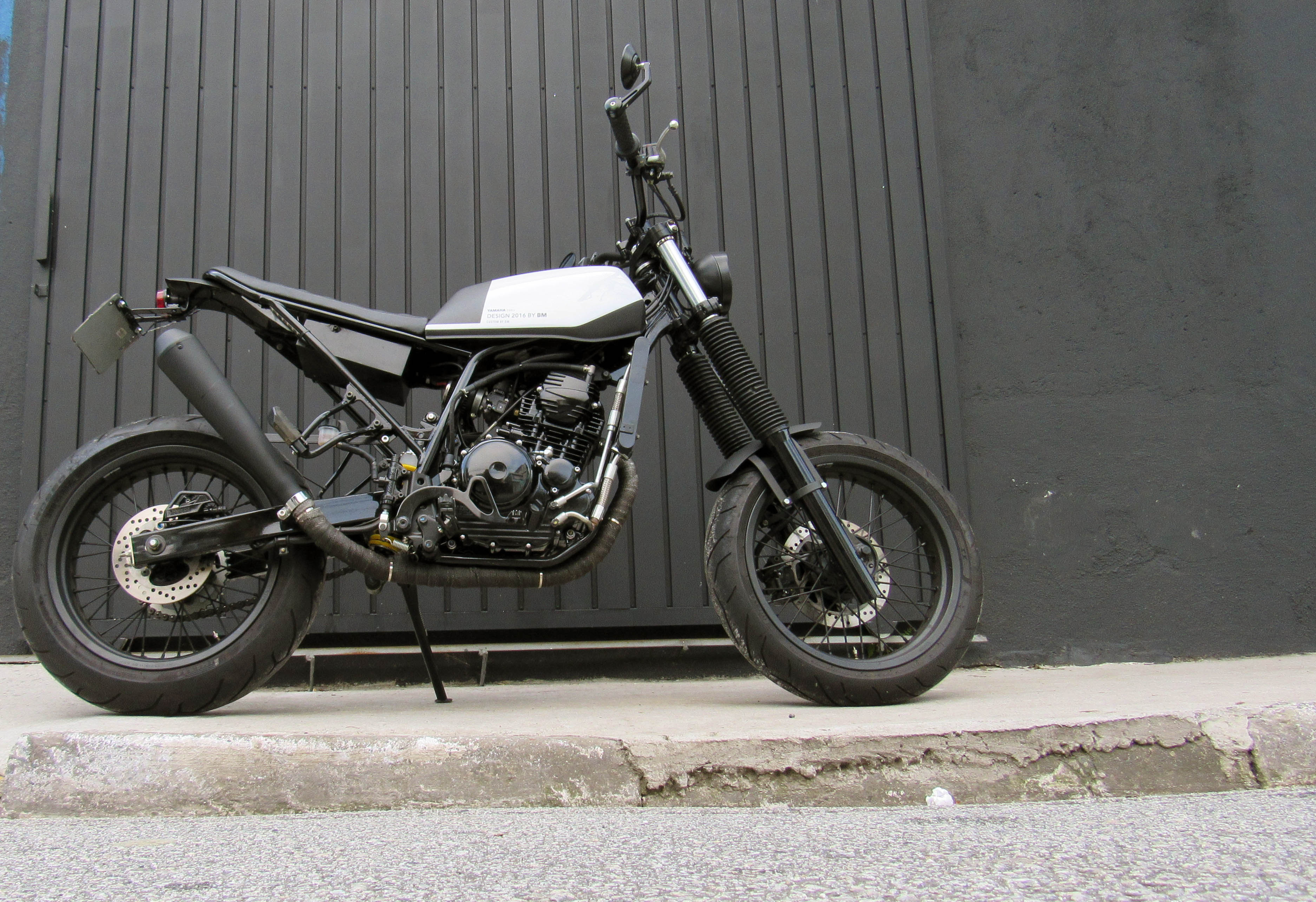 10 geral moto yamaha lander custom difer