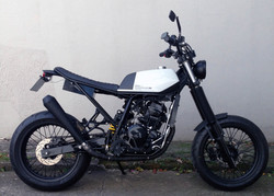 19 geral moto yamaha lander custom difer