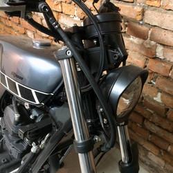 5 geral moto yamaha fazer custom diferen