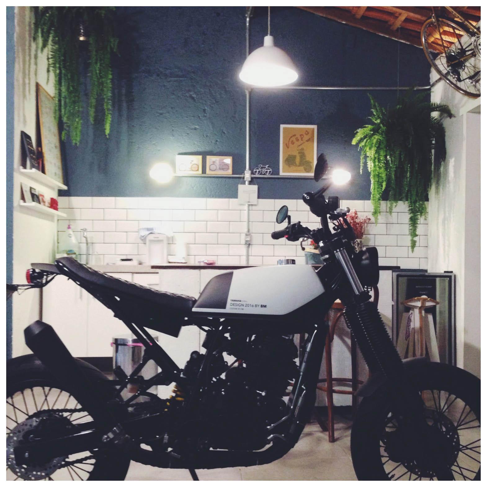 7 geral moto yamaha lander custom difere