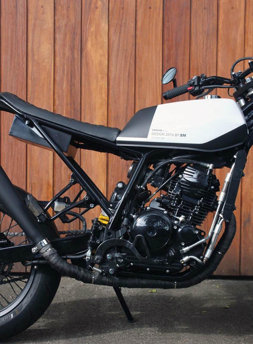 5 geral moto yamaha lander custom difere