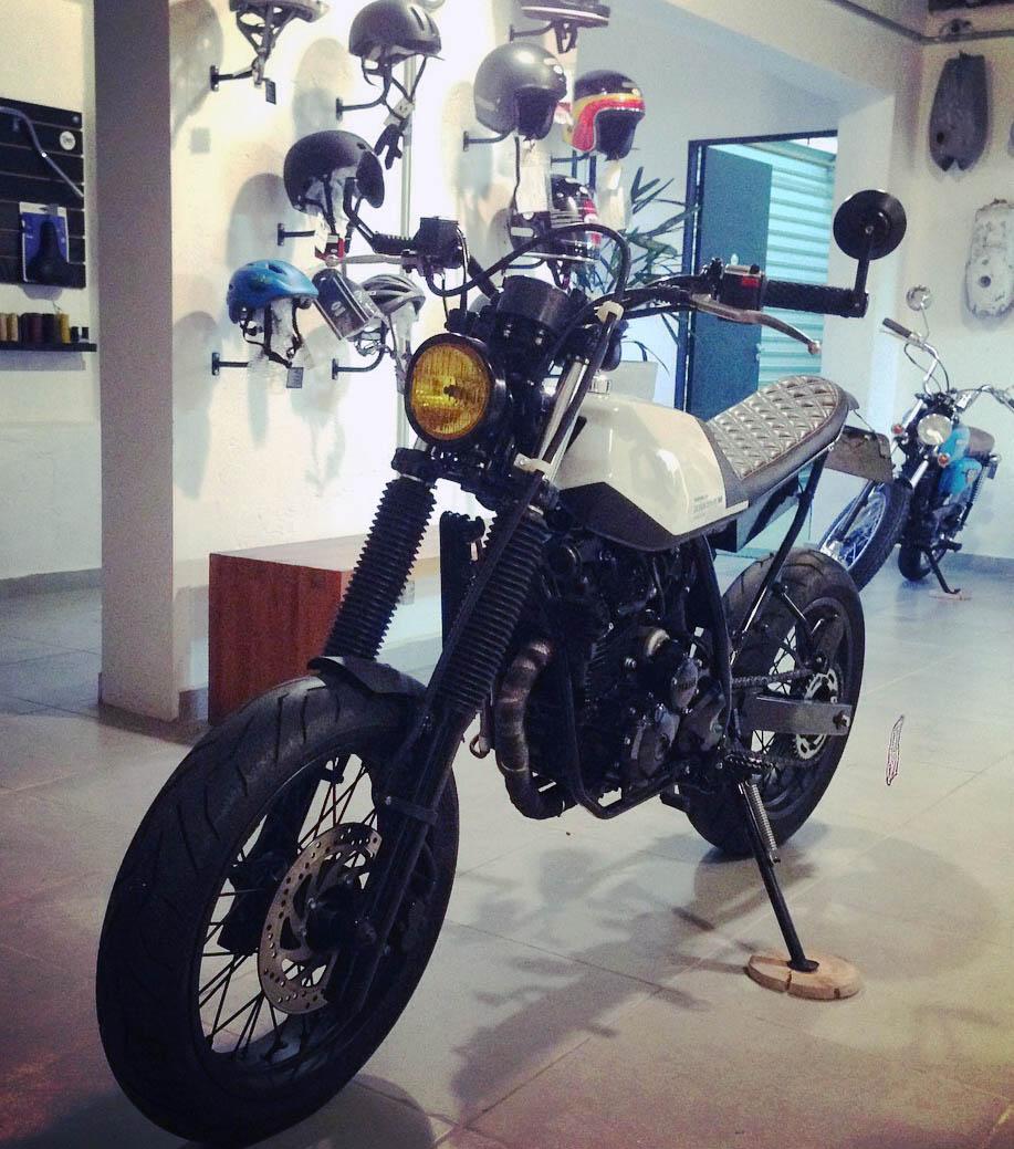16 geral moto yamaha lander custom difer