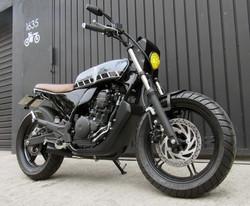 8 geral moto yamaha fazer custom diferen