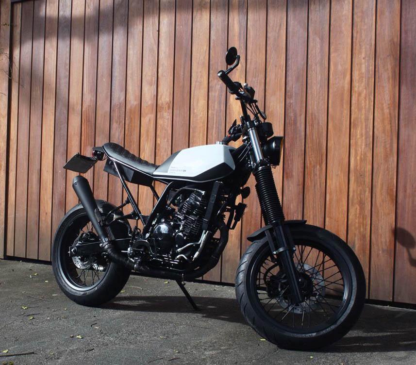 14 geral moto yamaha lander custom difer