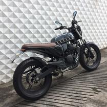 Yamaha Fazer 250 customizada diferentes mentes custom moto  arte design