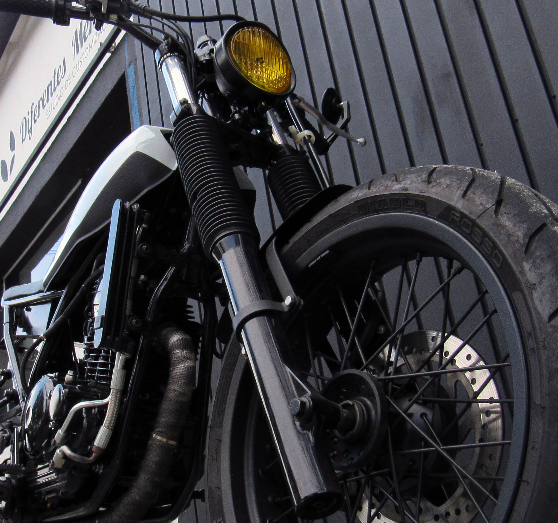 12 geral moto yamaha lander custom difer