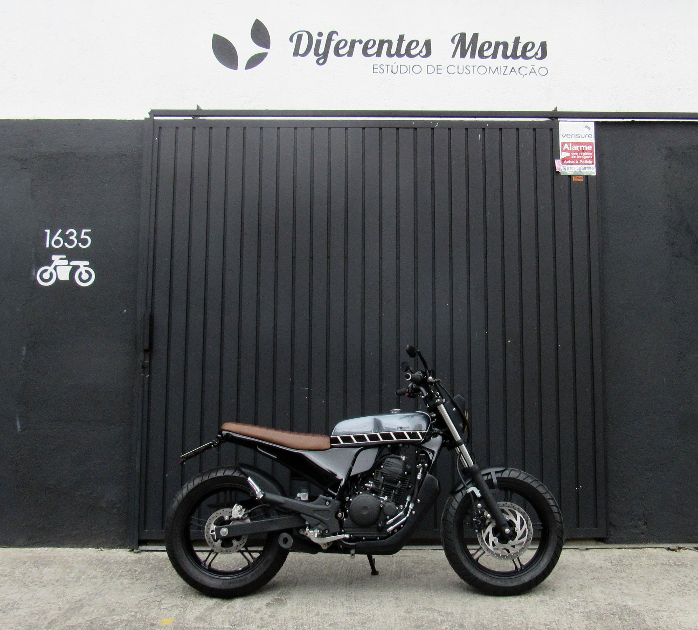 12 geral moto yamaha fazer custom difere