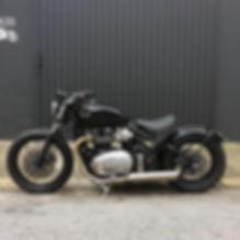 3 geral moto TRIUMPH custom diferentes m