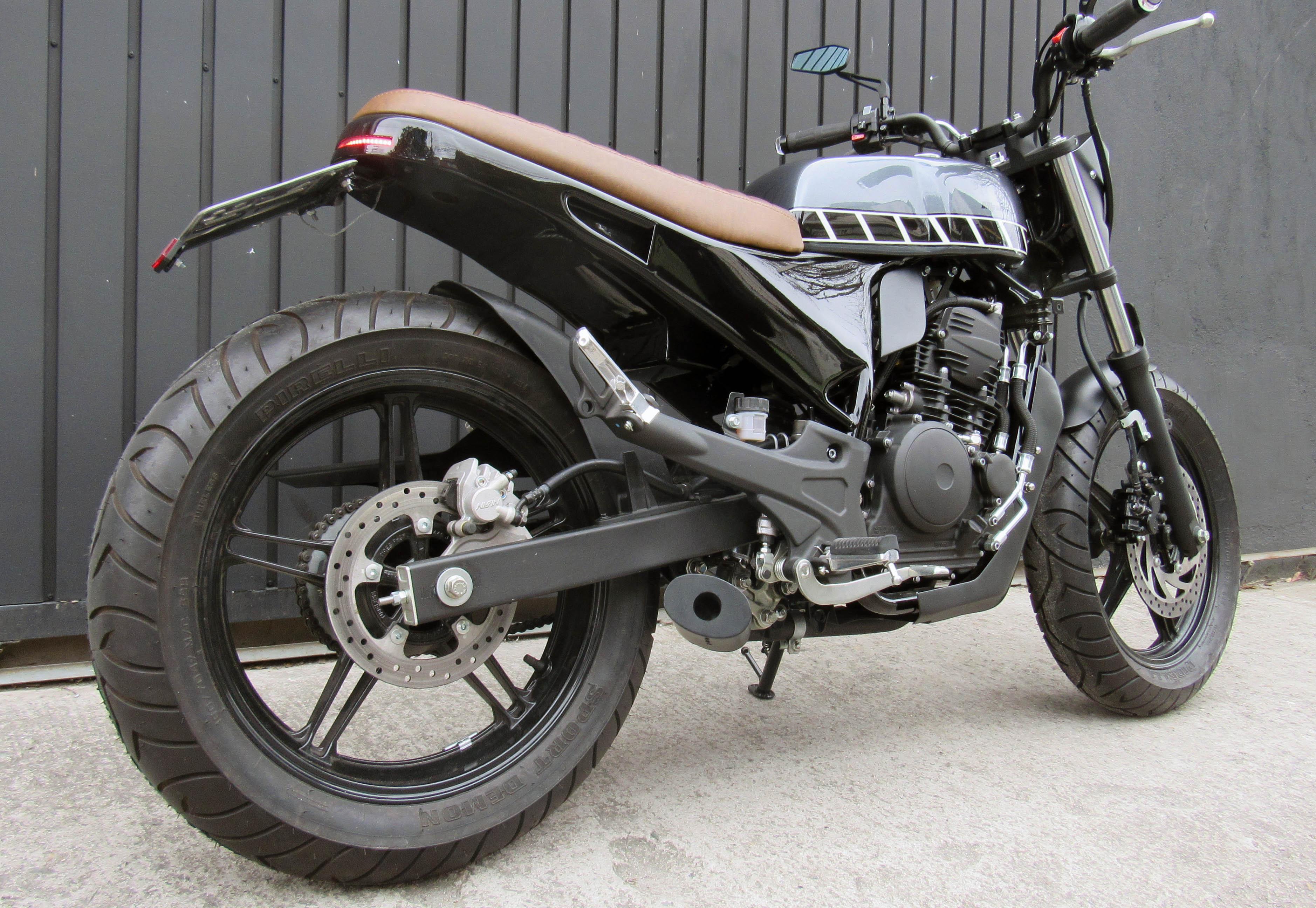 10 geral moto yamaha fazer custom difere
