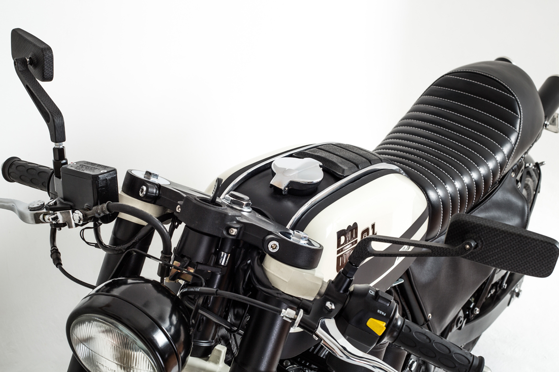 4 moto custom diferentes mentes design m