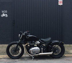 11 geral moto TRIUMPH custom diferentes