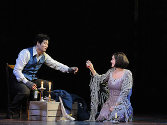 Performing Mimi in Puccini's La Boheme Opening New Years Eve