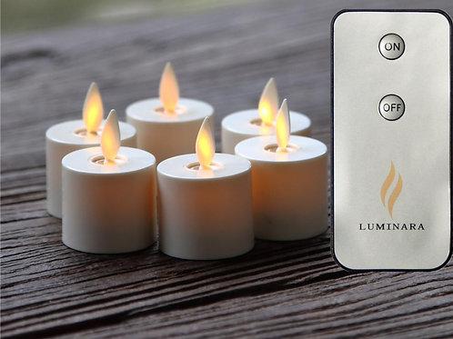 Moving flame votive set...