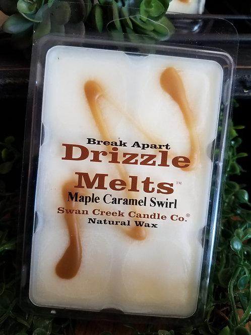 Maple Caramel Swirl soybean wax melts by Swan Creek...