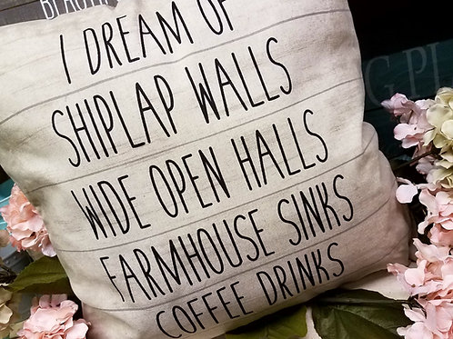 Shiplap pillow...