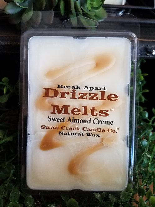 Sweet Almond Creme wax melts by Swan Creek...