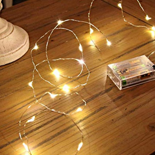 Battery operated FIREFLY TWINKLE LIGHTS with remote