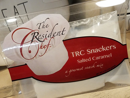 TRC SALTED CARAMEL snack mix...