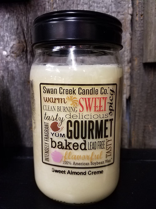 SWEET ALMOND CREME...large jar candle