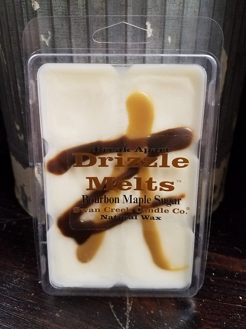 Drizzle melts... Bourbon MAPLE sugar