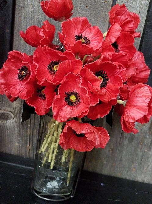 Poppies stem...