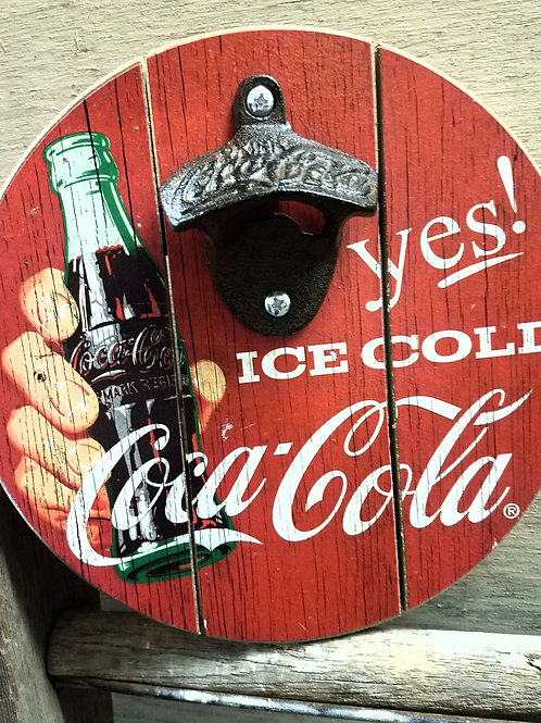 Vintage inspired COKE bottle opener...