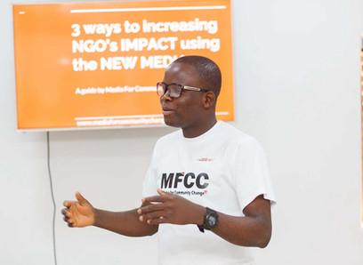 """Jimoh Oluwatobi Segun: """" No help is too small"""""""