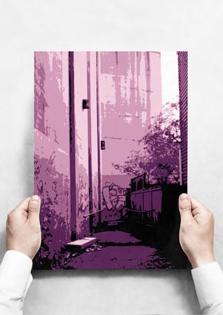 Alleyway Pop Art