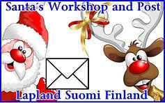 Original finnish christmas special stamp