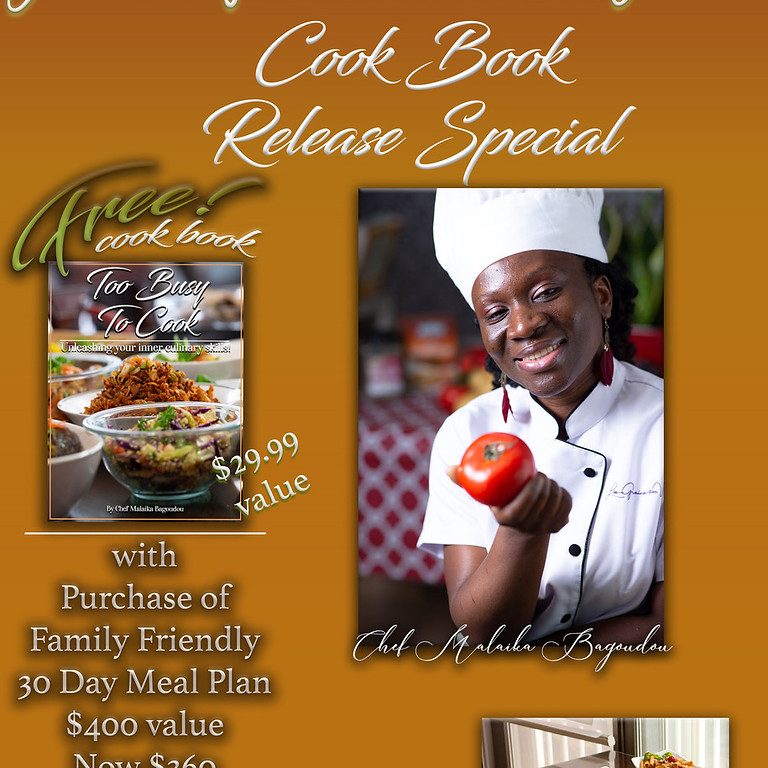 Book Signing And Free Lunch