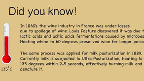 Why did we pasteurize milk at all?