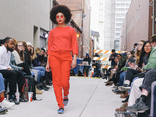 Fashion Transforms Downtown Alley