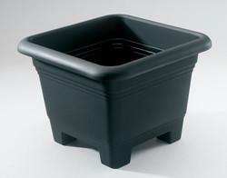 905-6 Black flower pot 32x32cm
