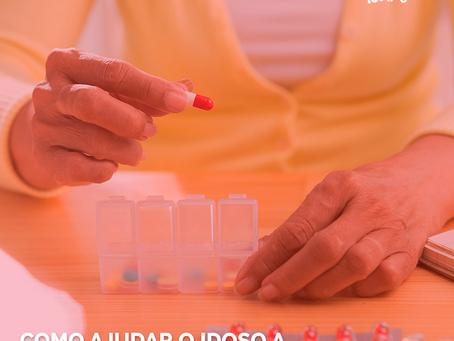 Como auxiliar o idoso a não esquecer de tomar os remédios?